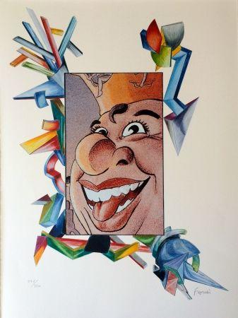 Litografía Fahri - Carnaval de Nice