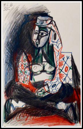 Litografía Picasso (After) - CARNET DE CALIFORNIE VII