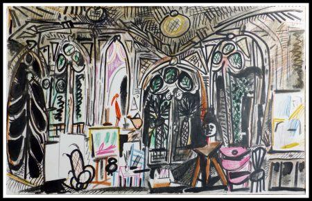 Litografía Picasso (After) - CARNET DE CALIFORNIE XIII