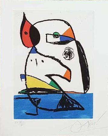 Grabado Miró - Carnets Catalans