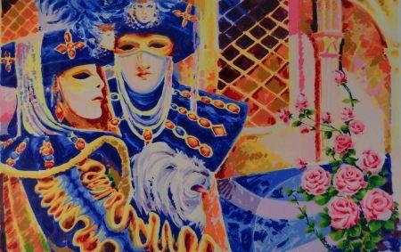 Serigrafía Faccincani - Carnevale veneziano