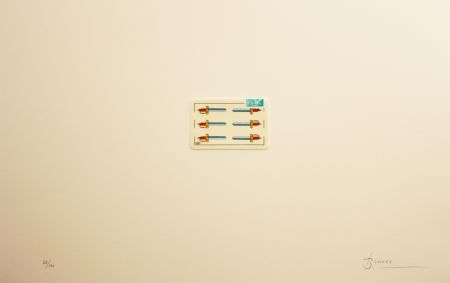 Litografía Brossa - Carpeta 12 Aniversari Galeria Joan Prats