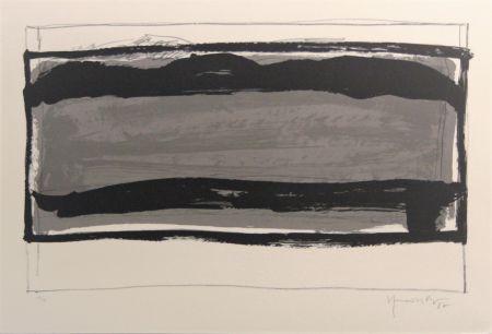 Litografía Hernandez Pijuan - Carpeta 12 aniversari Galeria Joan Prats