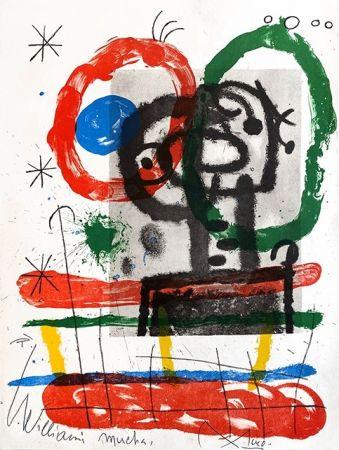 Litografía Miró - Cartones