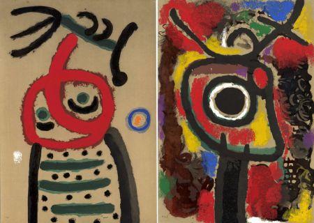 Libro Ilustrado Miró - CARTONES. New-York 1965