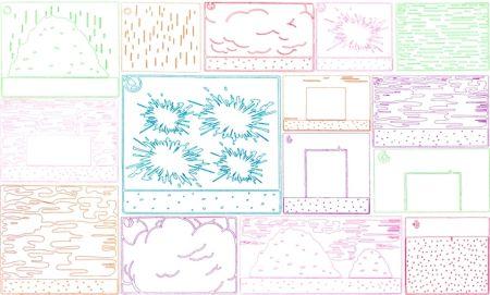 Grabado Halley - Cartoon Views