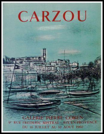 Cartel Carzou - CARZOU GALERIE PIERRE COREN, AIX EN PROVENCE