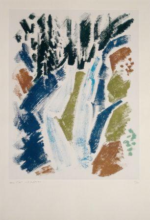 Aguafuerte Masson - Cascade bleue