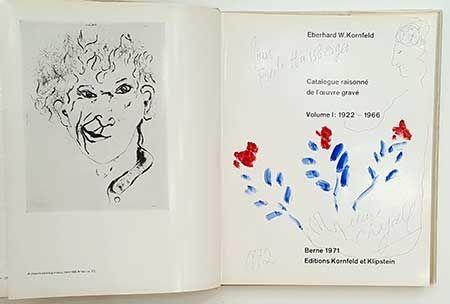 Libro Ilustrado Chagall - Catalogue De L'oeuvre Gravé - Dessin