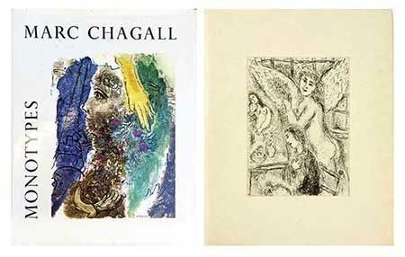 Libro Ilustrado Chagall - Catalogue Des Monotypes