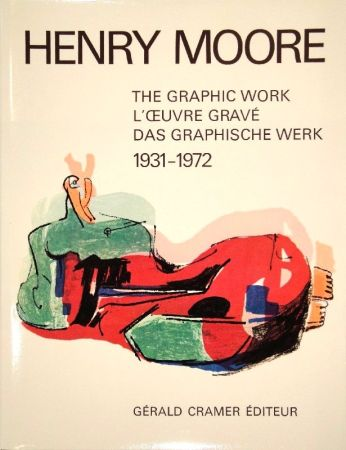 Libro Ilustrado Moore - Catalogue of the graphic work. 1931-1972.