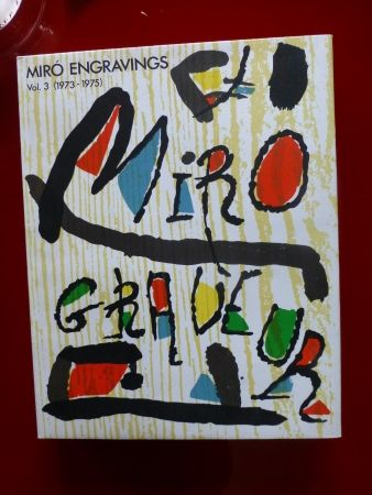 Libro Ilustrado Miró - Catalogue raisonné des gravures