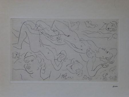 Aguafuerte Matisse - Catalogue raisonné des ouvrages illustrés