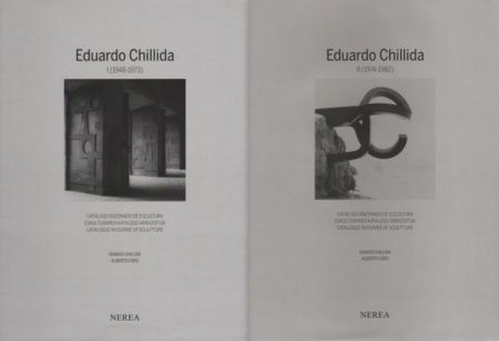Libro Ilustrado Chillida - Catalogue raisonné of Sculpture 2 Volumes