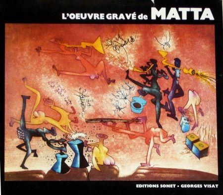 Libro Ilustrado Matta - Catalogue raisonné Sonet