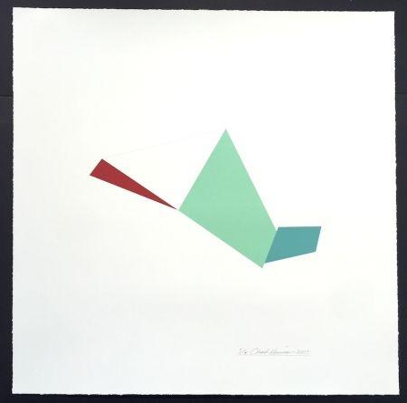 Serigrafía Hinman - Catapult, from Kites Suite