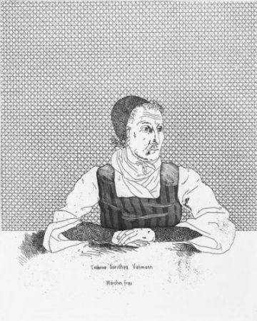 Grabado Hockney - Catharina Dorothea Viehman