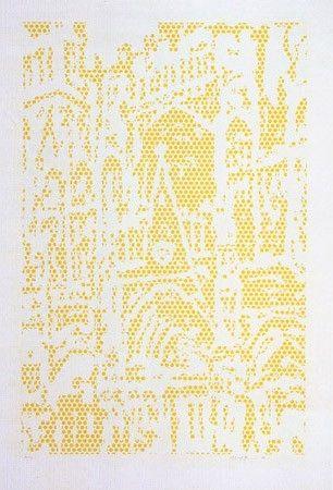 Litografía Lichtenstein - Cathedral I