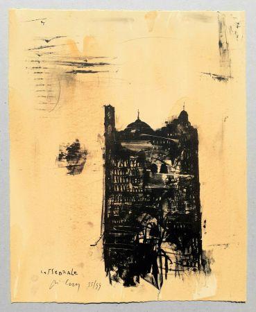 Litografía Pizzi Cannella - Cattedrale