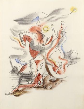 Litografía Masson - CAVALIER, 1933