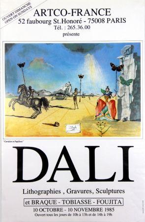 Offset Dali - Cavaliers et Papillons