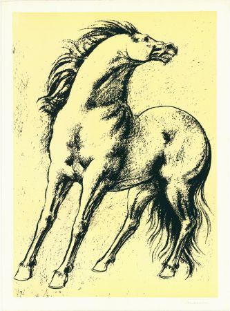 Litografía Messina - Cavallo