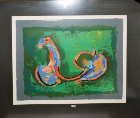 Aguafuerte Y Aguatinta Marini - Cavallo in armonia
