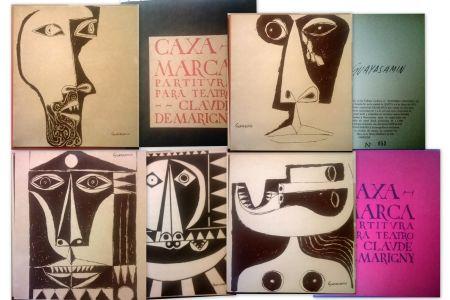Libro Ilustrado Guayasamin - Caxa Marca - Partitura para teatro