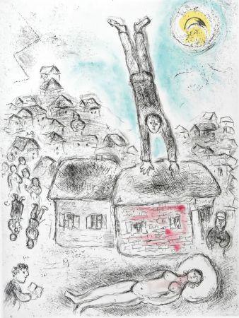 Sin Técnico Chagall -  Ce lui qui dit les choses sans rien dire (Plate 10)