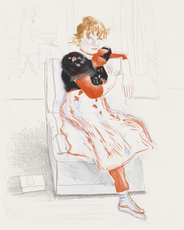 Sin Técnico Hockney - Celia Observing
