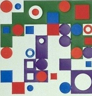 Grabado Vasarely - Celona