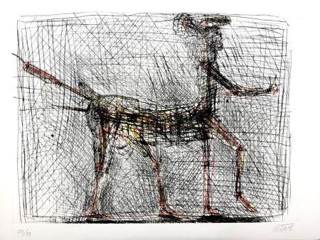 Grabado Cesar - Centaure, hommage à Picasso