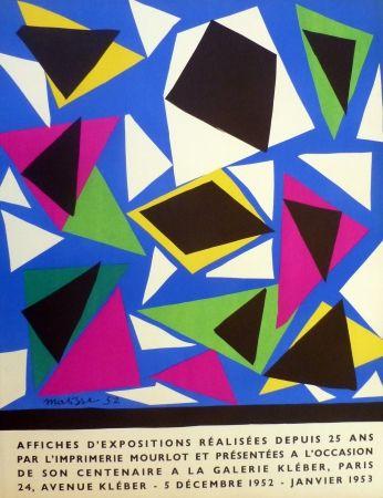 Litografía Matisse - Centenaire de l'imprimerie Mourlot, exposition galerie Kléber 1953