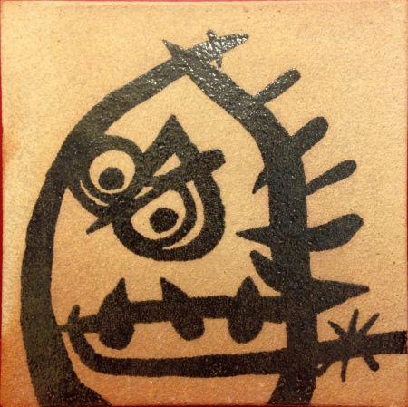 Cerámica Miró (After) - Ceramic