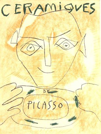 Litografía Picasso - Ceramiques
