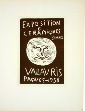 Litografía Picasso (After) - Ceramiques  Paques