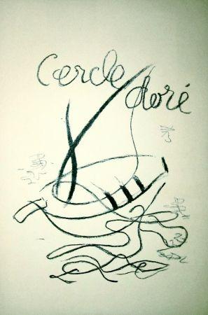 Litografía Braque - Cercle doré