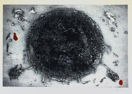 Aguafuerte Y Aguatinta Argimon - Cercle negre