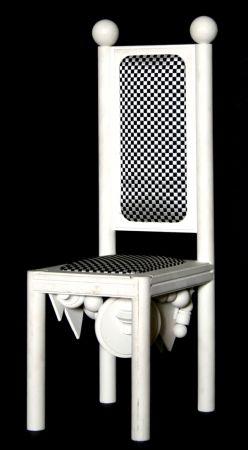 Litografía Del Pezzo - Chair