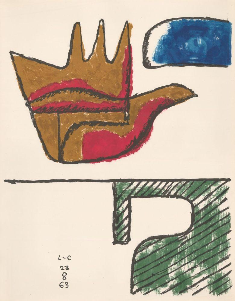 Litografía Le Corbusier - Chandigarh Open Hand