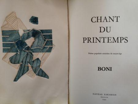 Libro Ilustrado Boni - Chant du Printemps - Poème populaire arménien -