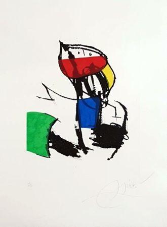 Grabado Miró - Chanteurs Des Rues