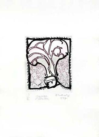 Grabado Alechinsky - Chapeau d'écriture