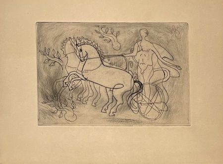 Grabado Braque - Char