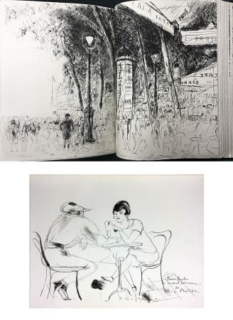 Libro Ilustrado De Segonzac - Charles-Louis Philippe : BUBU DE MONTPARNASSE. Avec dessin original et suites (1929).