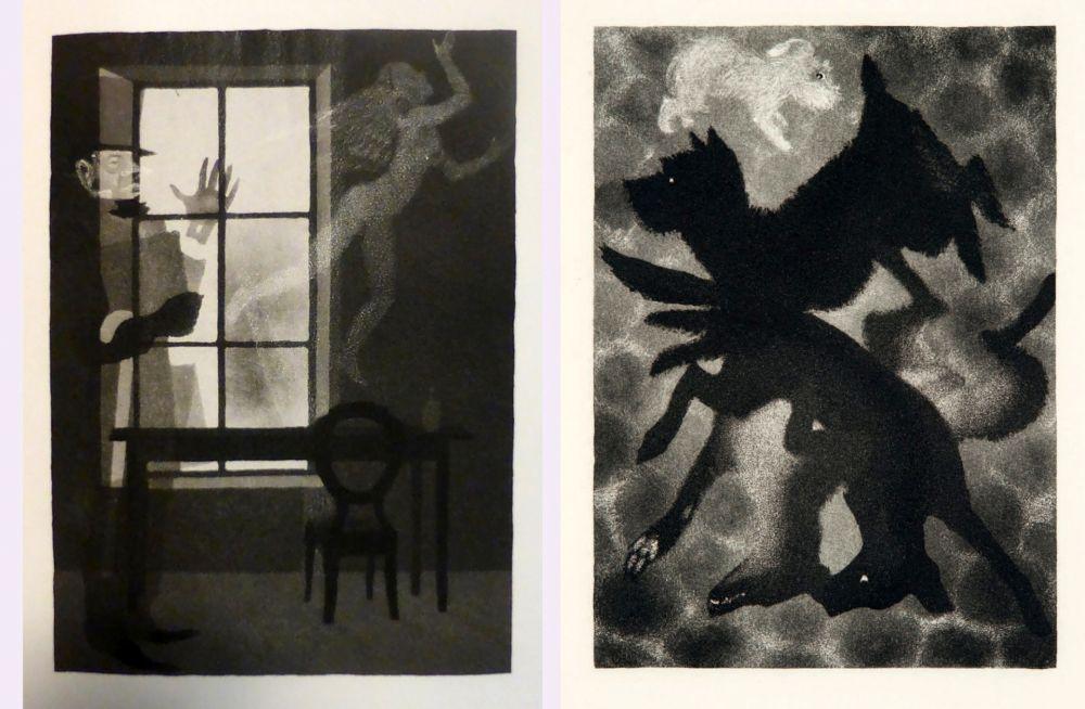 Libro Ilustrado Alexeïeff - Charles Baudelaire : PETITS POÈMES EN PROSE. Eaux-fortes d'Alexeieff (1934).