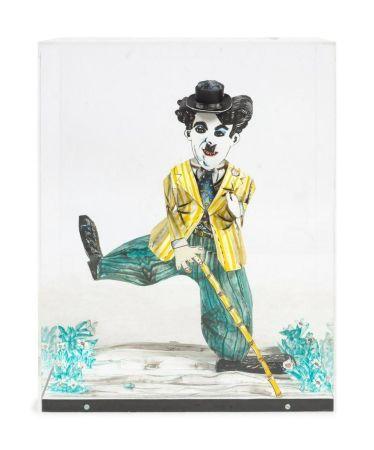 Litografía Grooms - Charlie Chaplin