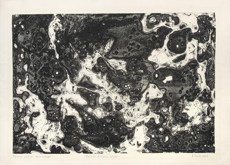 Litografía Dubuffet - Chars et chevaux célestes