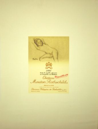 Offset Balthus - Chateau Mouton de Rothschild