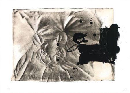 Litografía Tàpies - Chaussures sur chaise